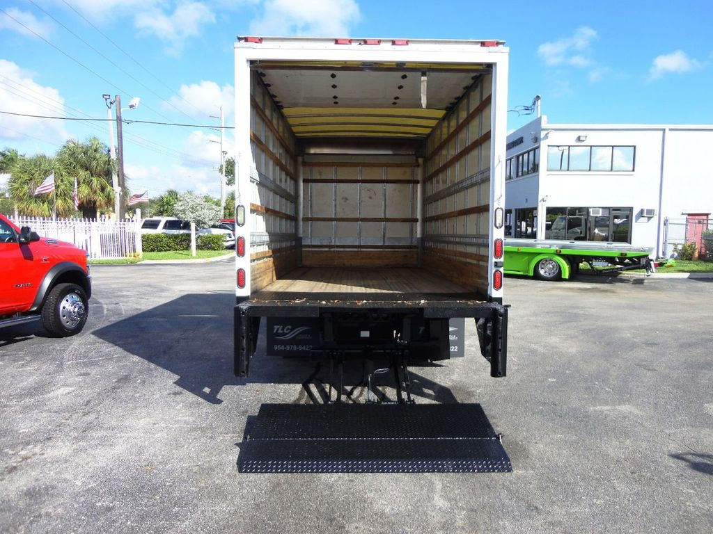 2019 Isuzu NPR HD 16FT DRY BOX.TUCK UNDER LIFTGATE BOX TRUCK CARGO TRUCK - 19500745 - 20