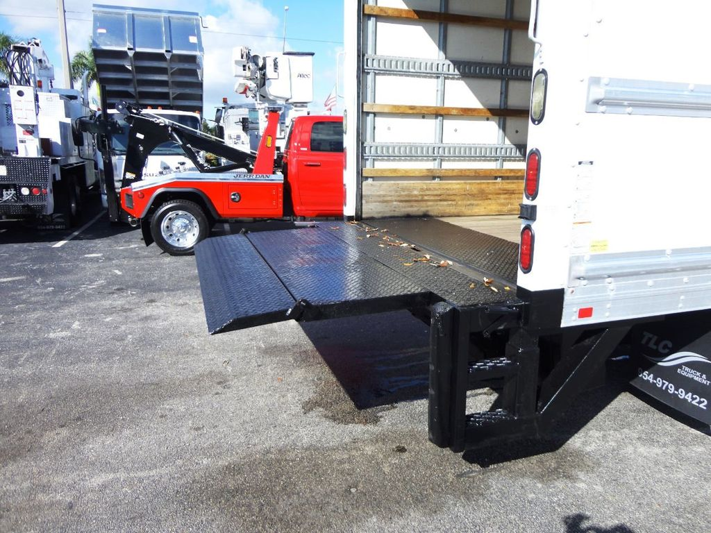 2019 Isuzu NPR HD 16FT DRY BOX.TUCK UNDER LIFTGATE BOX TRUCK CARGO TRUCK - 19500745 - 21