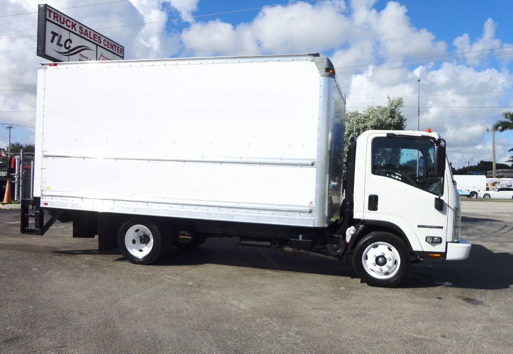 2019 Isuzu NPR HD 16FT DRY BOX.TUCK UNDER LIFTGATE BOX TRUCK CARGO TRUCK - 19500745 - 4