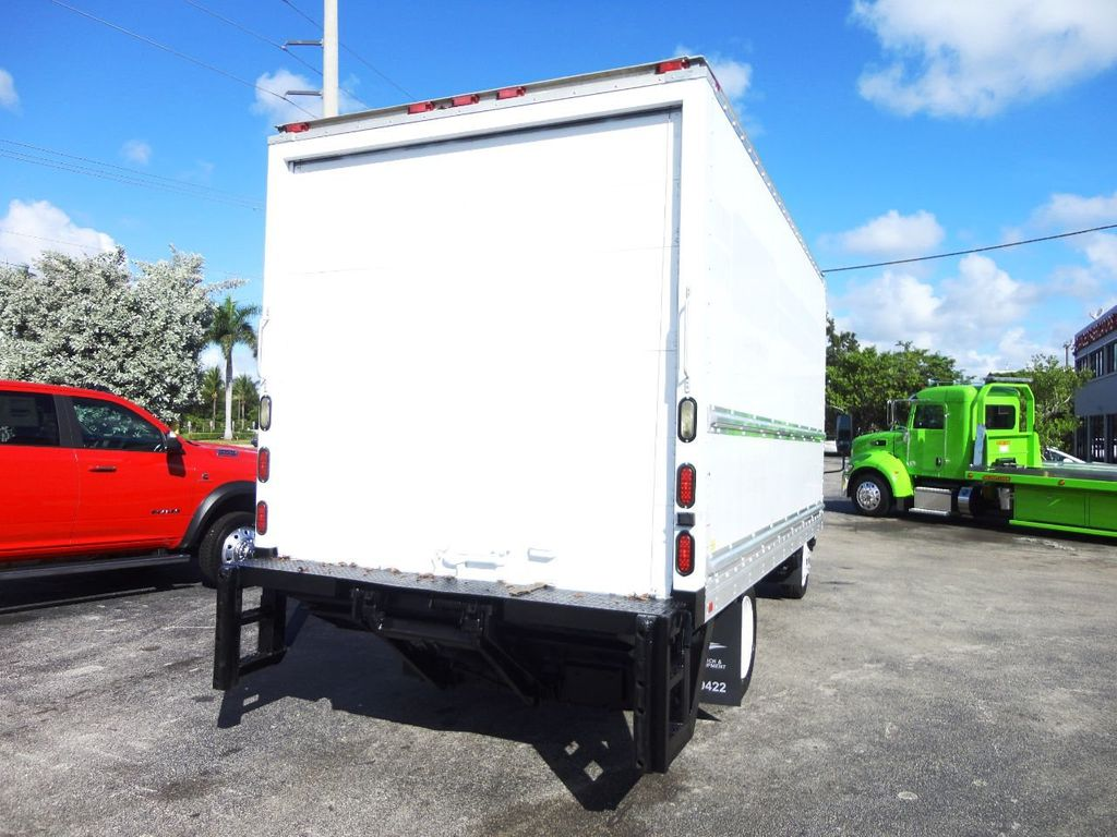 2019 Isuzu NPR HD 16FT DRY BOX.TUCK UNDER LIFTGATE BOX TRUCK CARGO TRUCK - 19500745 - 6