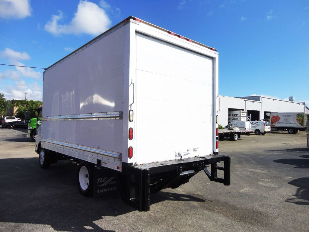 2019 Isuzu NPR HD 16FT DRY BOX.TUCK UNDER LIFTGATE BOX TRUCK CARGO TRUCK - 19500745 - 7