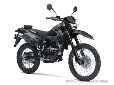 New 2019 Kawasaki KLX250 Camo Edition