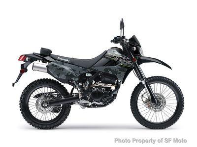 2019 Kawasaki KLX250 Camo Edition  - Click to see full-size photo viewer