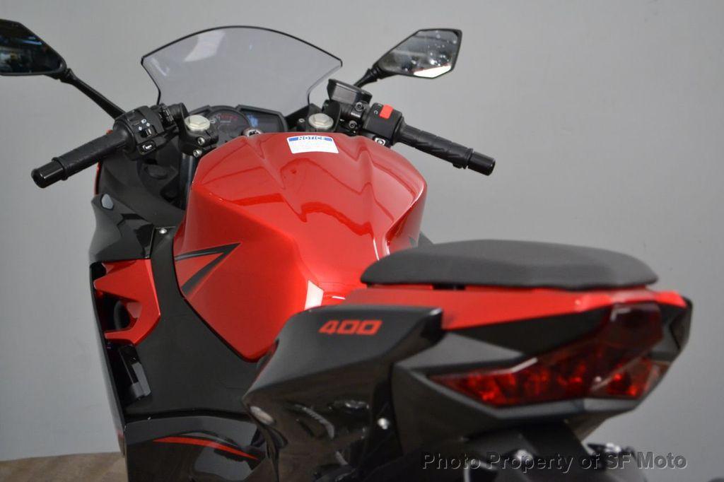 2019 New Kawasaki Ninja 400 ABS at SF Moto Serving San Francisco, CA, IID  18246579
