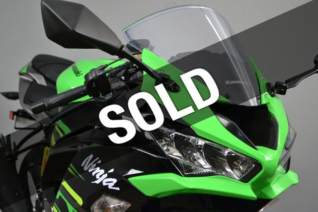 2019 Kawasaki Ninja 636 ZX-6R KRT ABS Available to Demo!