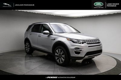New 2019 Land Rover Discovery Sport HSE Luxury 4WD SUV