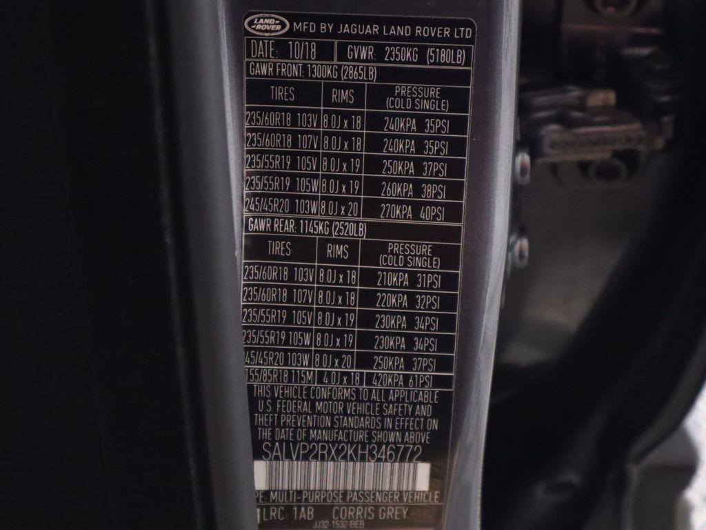 2019 Land Rover Range Rover Evoque 5 Door SE - 18671128 - 35