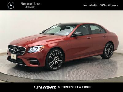 2019 New Mercedes-Benz E-Class E 450 4MATIC Sedan at Mercedes-Benz