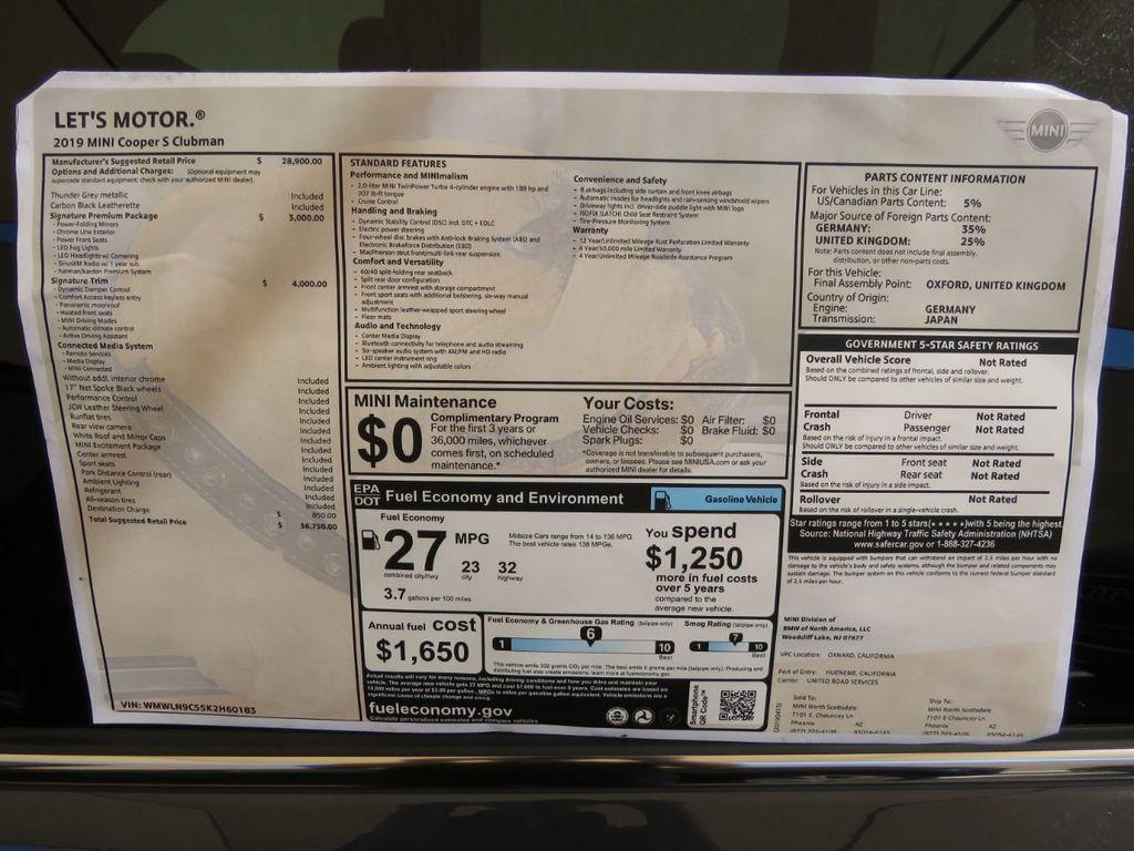 2019 New MINI Cooper S Clubman Sedan for Sale in Phoenix, AZ