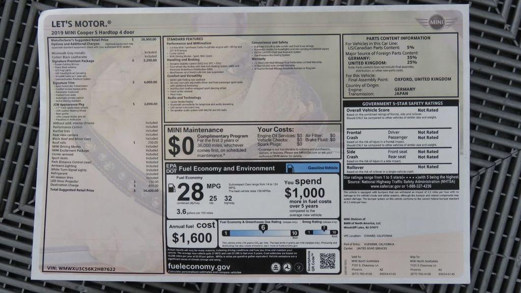 2019 MINI Cooper S Hardtop 4 Door  - 18285875 - 8