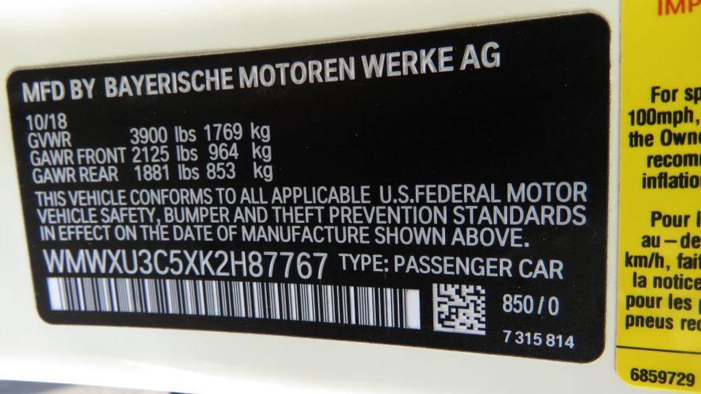 2019 MINI Cooper S Hardtop 4 Door COURTESY VEHICLE  - 18305232 - 37