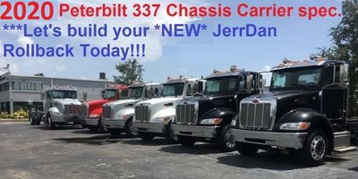 New 2019 Peterbilt 337 AIR RIDE**AIR BRAKES**22.5IN ALUM WHL**260HP CUMMINS**