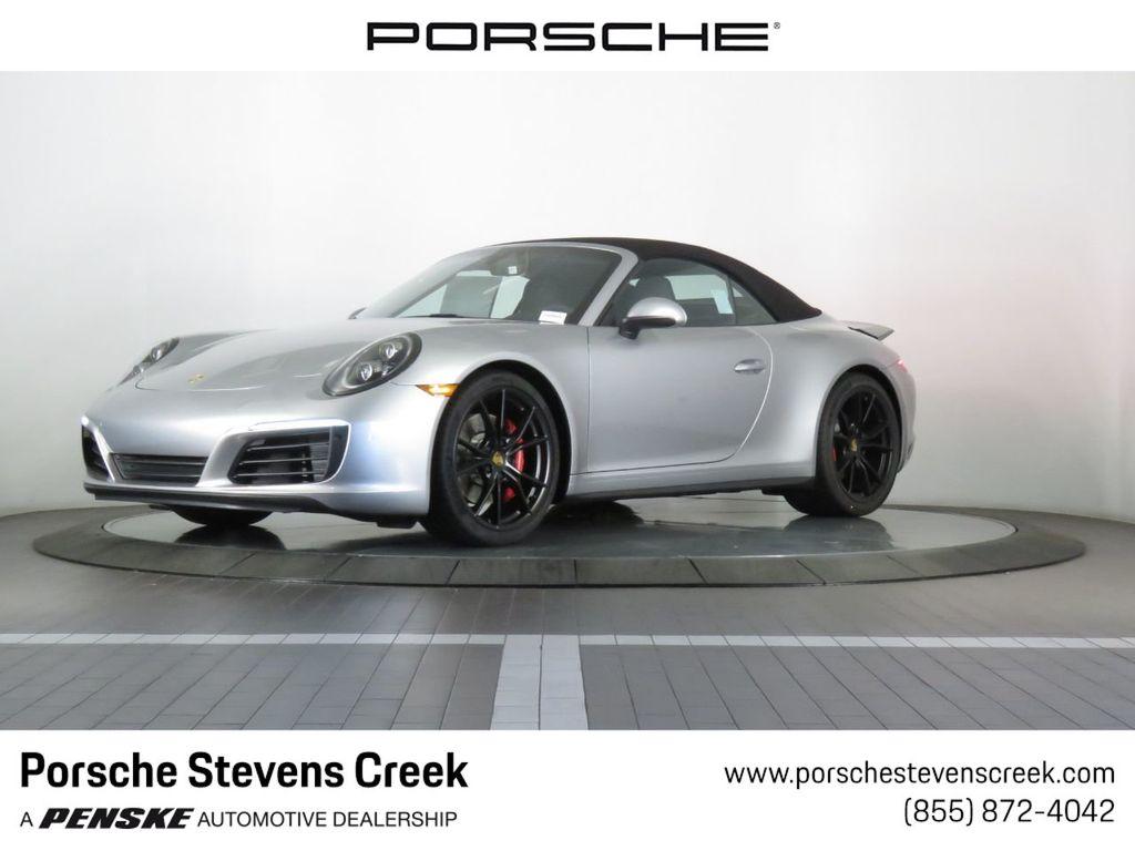 2019 New Porsche 911 Carrera 4s Cabriolet At Porsche Stevens Creek Serving Santa Clara San Jose Ca Iid 19254174