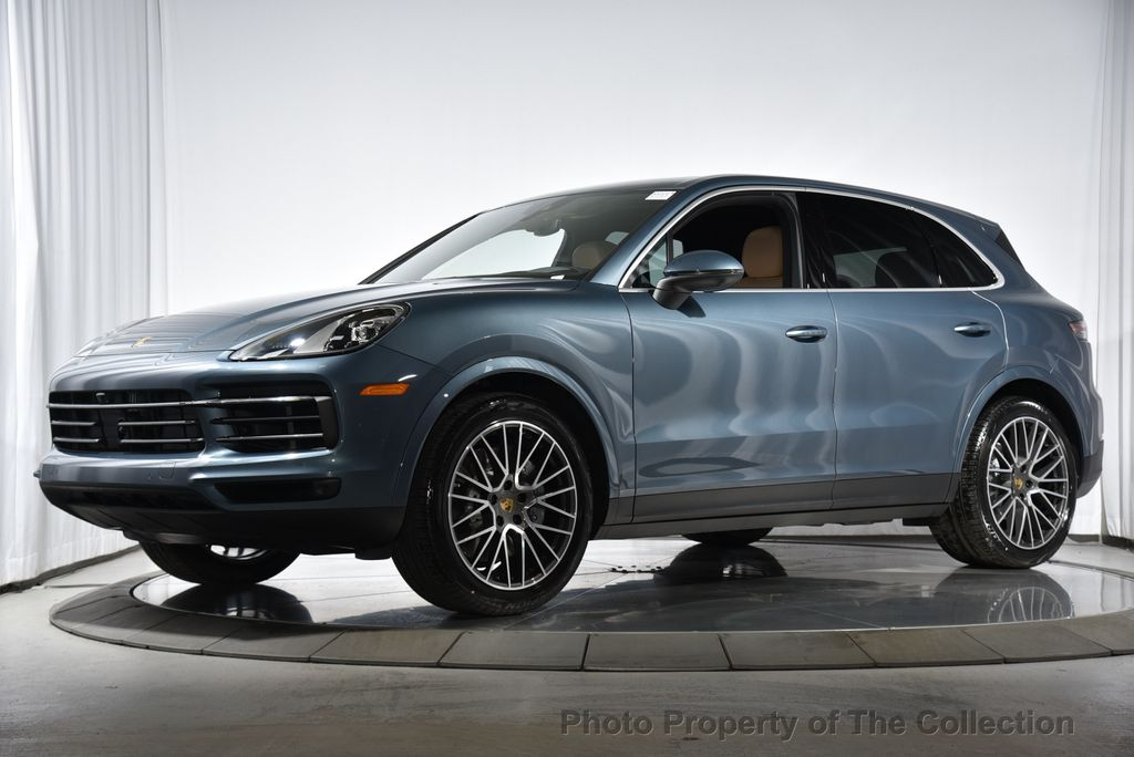 2019 New Porsche Cayenne S At The Collection Serving Coral