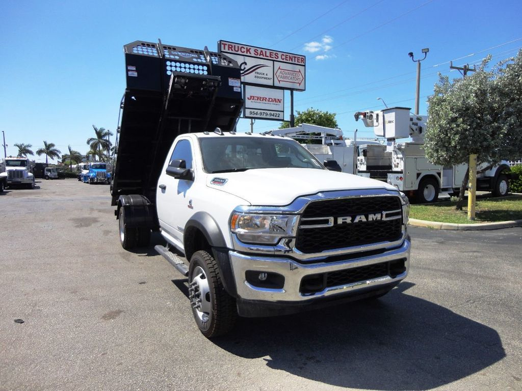 2019 Ram 5500 11FT SWITCH-N-GO..ROLLOFF TRUCK SYSTEM WITH FLATBED.. - 19388194 - 3
