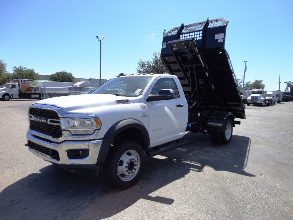 2019 Ram 5500 11FT SWITCH-N-GO..ROLLOFF TRUCK SYSTEM WITH FLATBED.. - 19388194 - 5