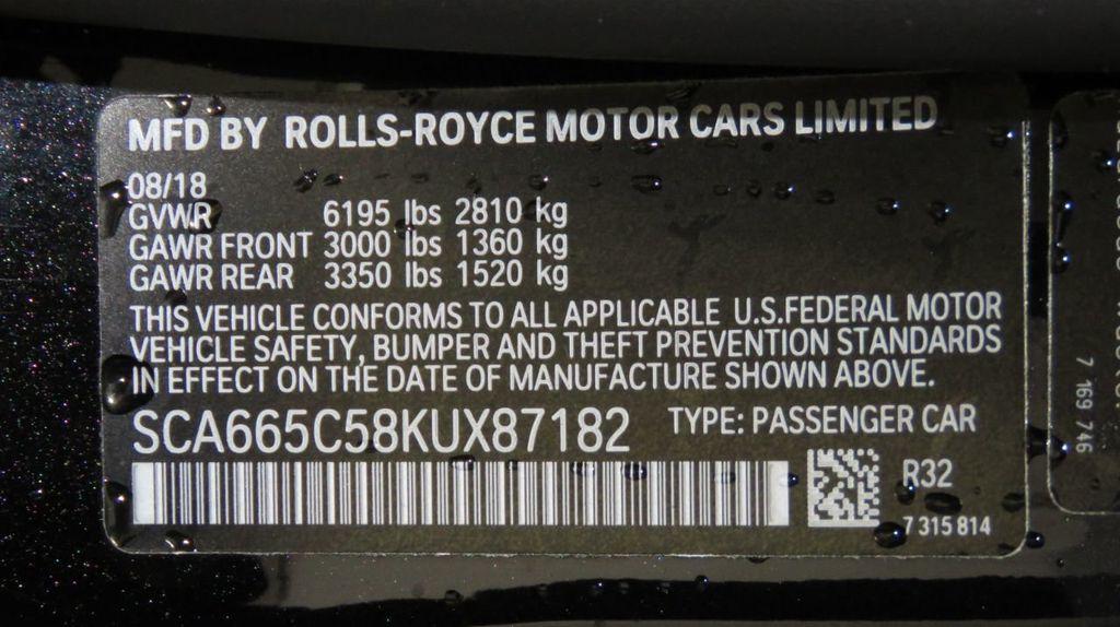 2019 Rolls-Royce Wraith LHD CP - 18508066 - 39