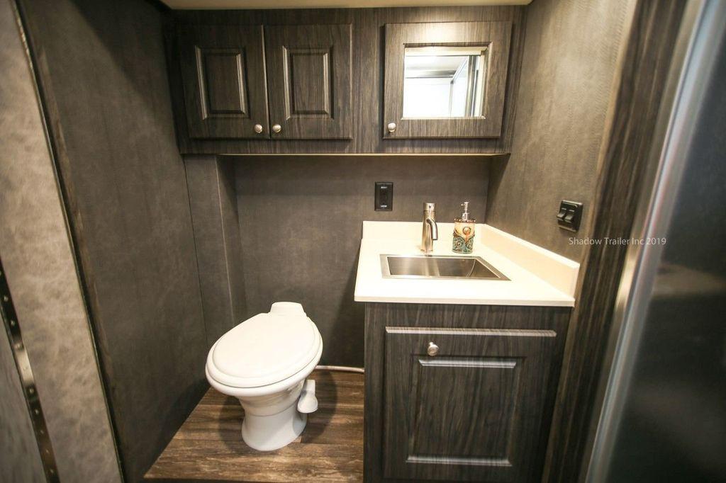2019 Shadow 3 Horse 14 Foot Luxury Conestoga Living Quarters  - 18654393 - 23