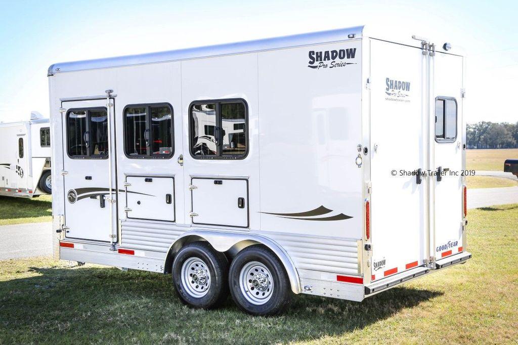 2019 Shadow 3 Horse KingPro SuperWide Draft Trailer  - 18570087 - 2