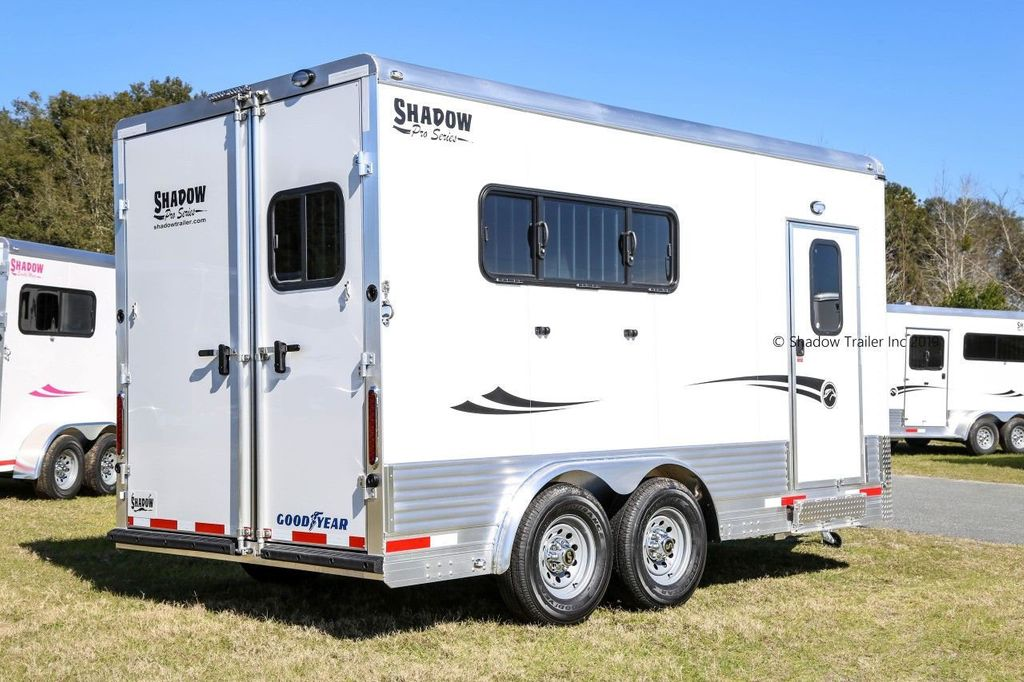 2019 Shadow 3 Horse KingPro SuperWide Draft Trailer