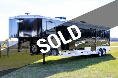 2019 Shadow 3 Horse Slant SuperWide 14'6 Living Quarters