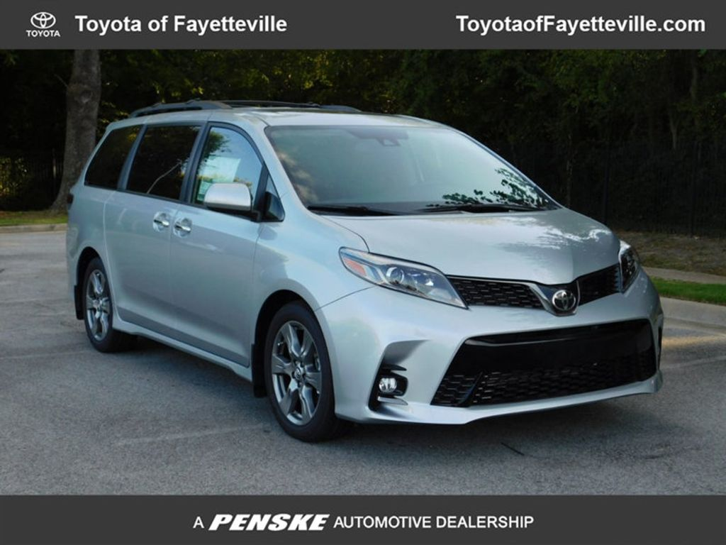 2019 New Toyota Sienna Se Fwd 8 Passenger At Of Fayetteville Fuel Filter 18157587 0