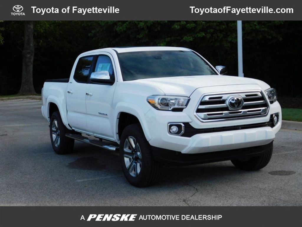 2019 Toyota Tacoma 4WD Limited Double Cab 5' Bed V6 AT - 18205884 - 0