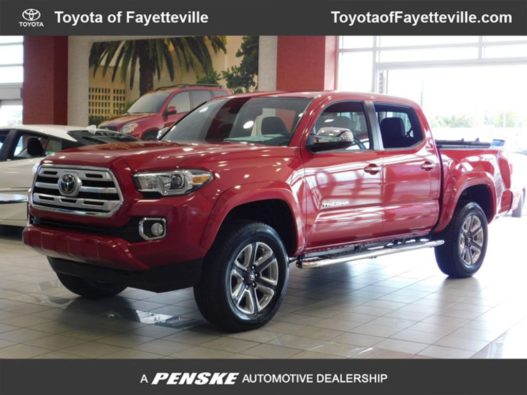 2019 New Toyota Tacoma 4wd Limited Double Cab 5 Bed V6 At Truck Long Fuel Hostage Wheels Crew Short