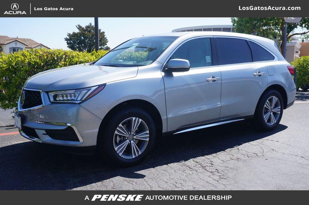 New 2020 Acura Mdx Fwd 7 Passenger For Sale In Los Gatos California 40893 Penskecars Com