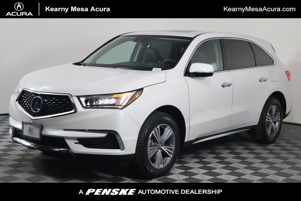 New 2020 Acura Mdx Sh Awd 7 Passenger For Sale In San Diego California 67992 Penskecars Com