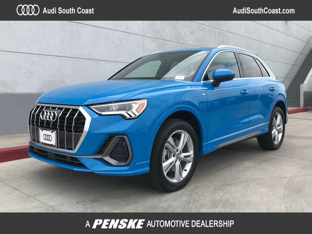 New 2020 Audi Q3 S Line Premium Plus 45 Tfsi Quattro For Sale In Santa Ana California 30949 Penskecars Com