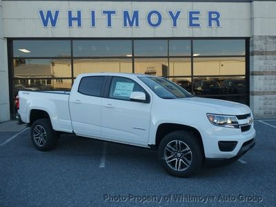 "New 2020 Chevrolet Colorado 4WD Crew Cab 141"" Work Truck"