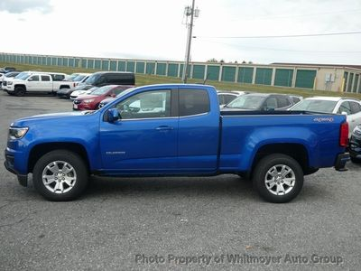 "2020 Chevrolet Colorado 4WD Ext Cab 128"" LT - Click to see full-size photo viewer"