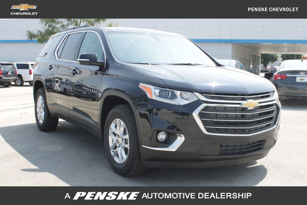 2020 New Chevrolet Traverse Fwd 4dr Lt Cloth W 1lt At Penske Indy