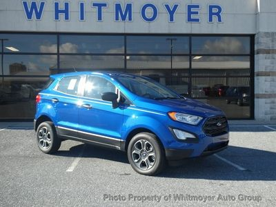New 2020 Ford EcoSport S 4WD SUV