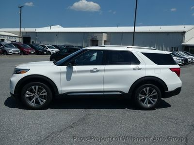 2020 Ford Explorer Platinum 4WD - Click to see full-size photo viewer