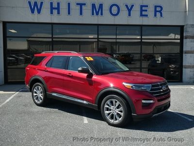 New 2020 Ford Explorer XLT 4WD SUV