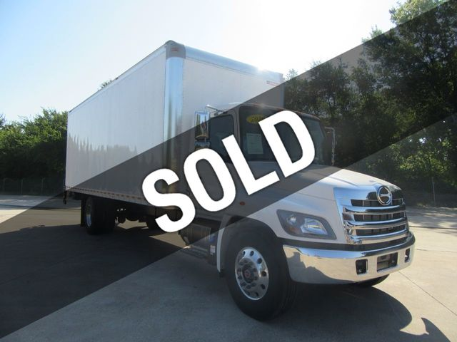 2020 New Hino 268a 26ft Box Truck With Icc Bumper At