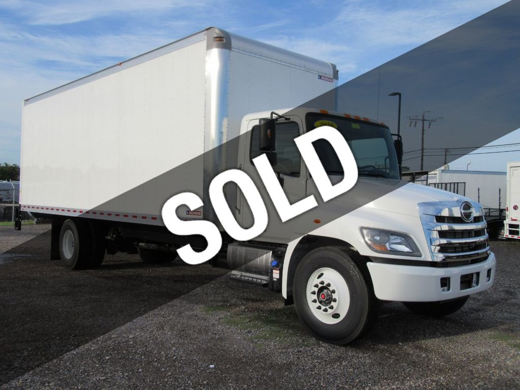 2020 HINO 268A (26ft Box Truck with ICC Bumper) - 18814717 - 0
