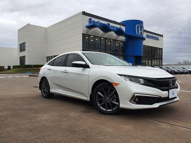 21+ 2020 Honda Civic Ex-L Sedan