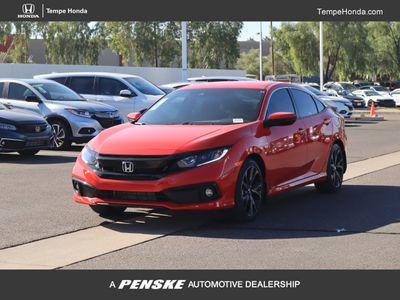 2020 Honda Civic Sedan Sport CVT Sedan