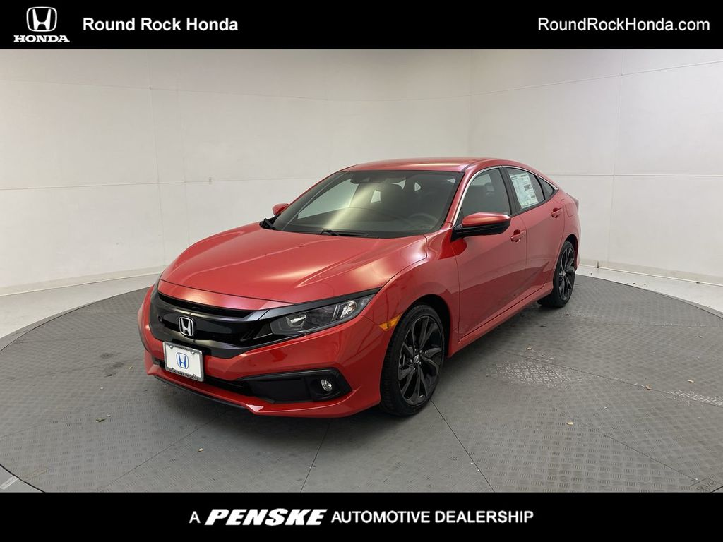 2020 New Honda Civic Sedan Sport Manual At Round Rock Honda Serving Austin Georgetown Cedar Park Tx Iid 20353519