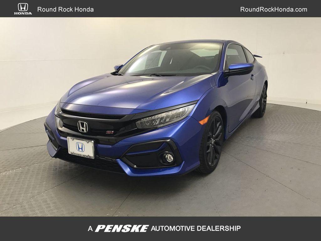 2019 New Honda Civic Si Coupe Manual At Round Rock Honda Manual Guide