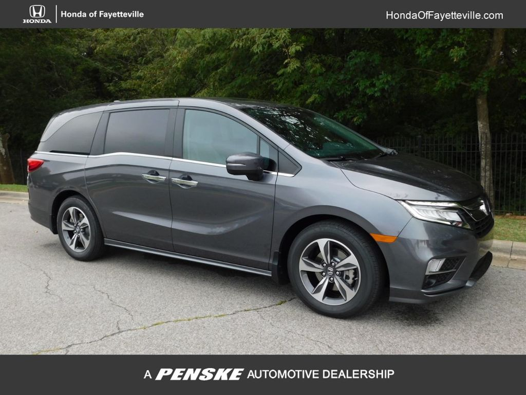 2020 New Honda Odyssey Touring Automatic at Honda of Fayetteville Serving  Rogers, Springdale, Fayetteville, AR, IID 19413783