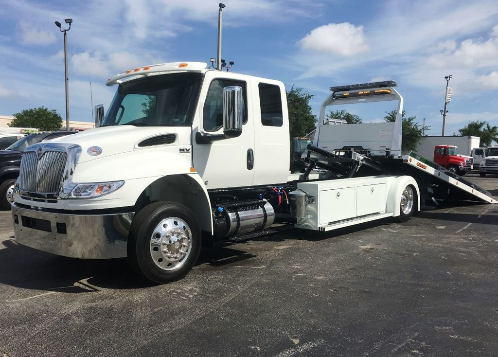2020 International MV607 22FT ROLLBACK TOW TRUCK..JERRDAN. StepSide Classic.. - 18799613 - 20