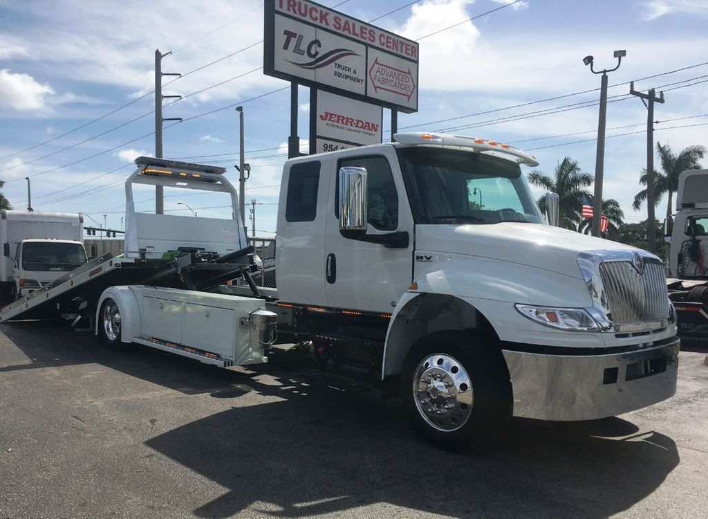2020 International MV607 22FT ROLLBACK TOW TRUCK..JERRDAN. StepSide Classic.. - 18799613 - 21