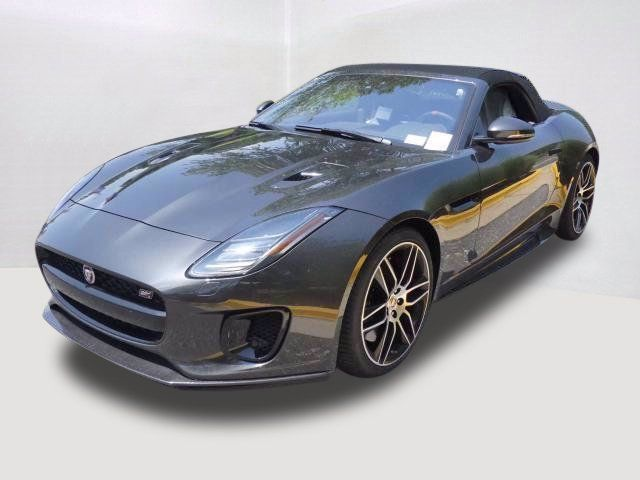 2020 new jaguar f-type convertible automatic checkered