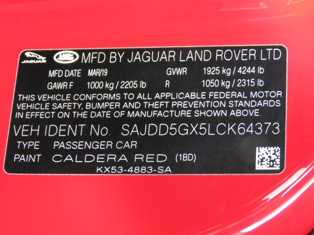 2020 Jaguar F-TYPE Convertible Automatic P300 - 18858283 - 41