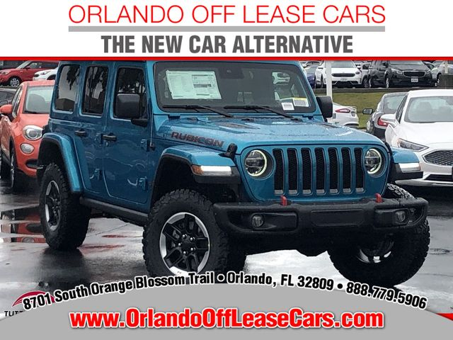 Jeep Wrangler Lease >> 2020 New Jeep Wrangler Unlimited Rubicon 4x4 At Orlando Off Lease Cars Fl Iid 19590521