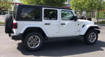 2020 Jeep Wrangler Unlimited Sahara 4x4 - Click to see full-size photo viewer